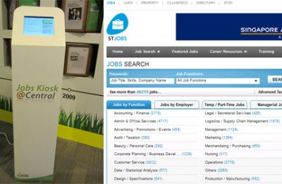 STJobs partners Central Singapore CDC in Jobs Kiosk@SG