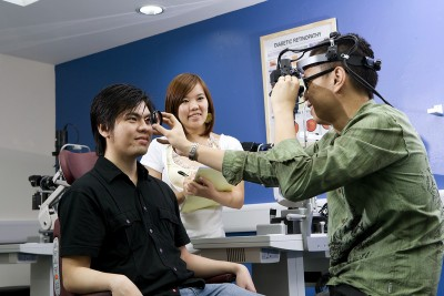 End in sight for optometry degree course