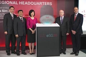 Cisco opens new regional HQ here
