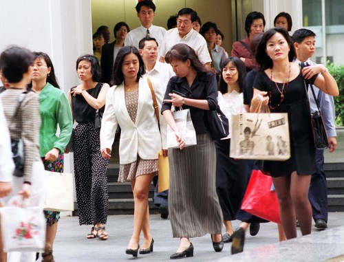 Layoffs up 10% with restructuring, more white-collar workers hit