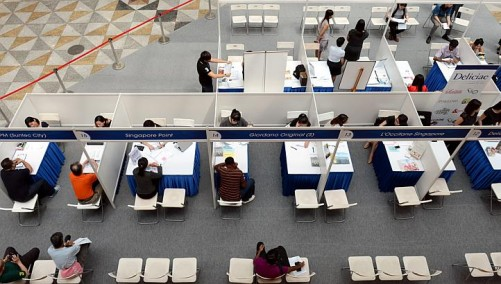 Suntec job fair sees low turnout despite incentives offered by employers