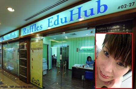 Raffles EduHub founder's and staff's qualifications questioned