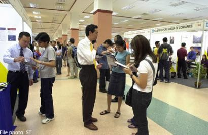 Singaporeans upbeat about job market