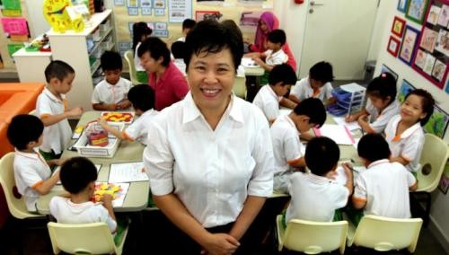 NTUC pre-school staff pick up customer service skills