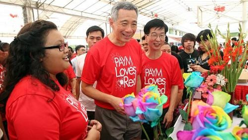 PM Lee urges the young to make Singapore better