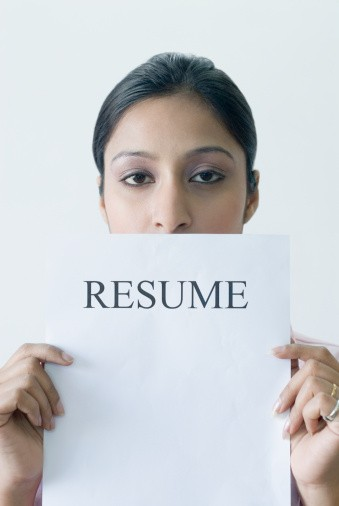 Typical resume layout