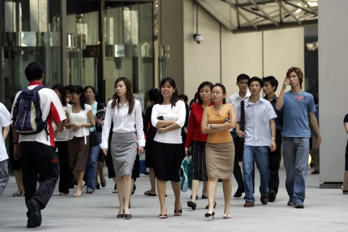 Singapore insurers' top concern: war for talent