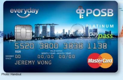 Cardholders to get overseas rebates with POSB Everyday