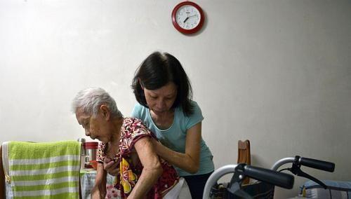 Singapore's crunch caregiver