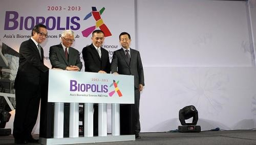 Biopolis helps turn biomedical sector into a powerhouse