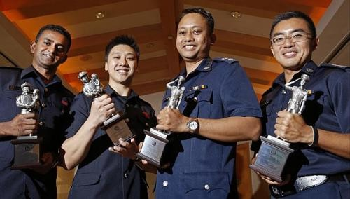 10 NSmen honoured for dedication to Home Team
