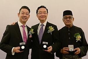 Three trailblazers of the arts take top honours