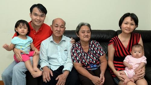 Family comes first for father of two