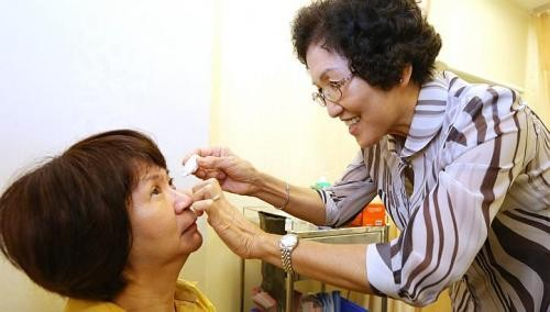 Nurses get training to spot eye diseases