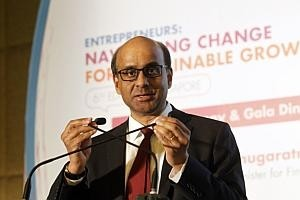 Tharman to head IMF panel for one more year