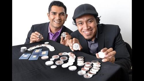 Friends strike gold with silver coin business