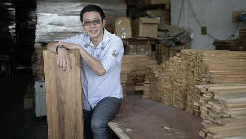 Timber flooring boss hopes to log profits