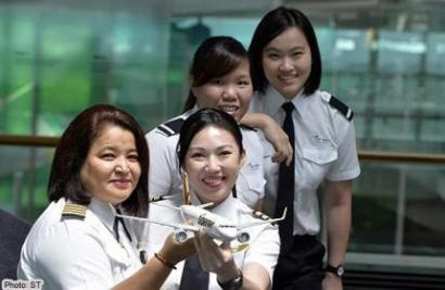 International Women's Day: Flying high in unusual career