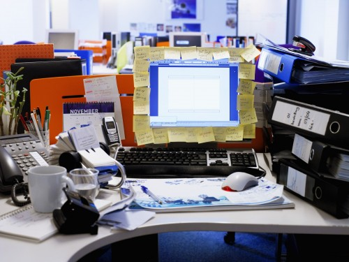 Work better with less clutter