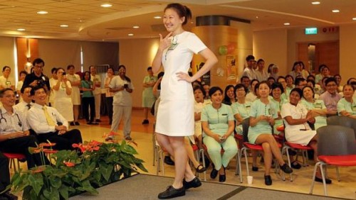 SGH staff roll up their sleeves - under new dress code for better hygiene
