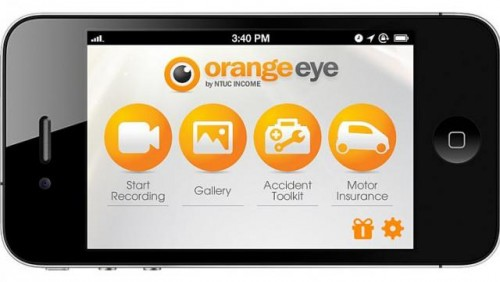Car in an accident? Orange Eye app can help: NTUC Income