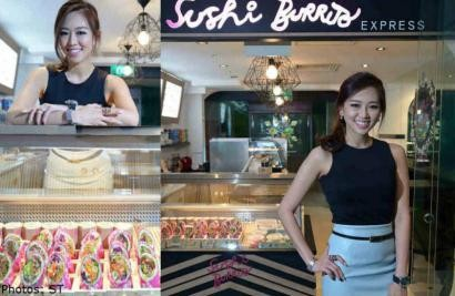 Ex-model on a roll with sushi joint