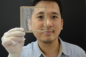 New technology stops plastic, glass surfaces from fogging up