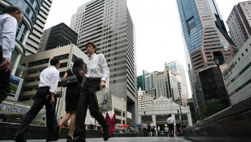 Fewer new jobs in financial sector