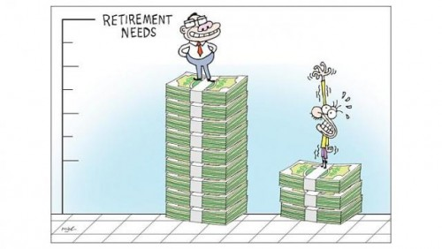 Saving too little, too late for retirement
