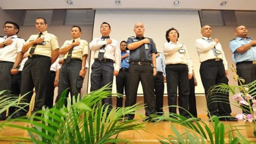 Security guards get special day to mark their contributions