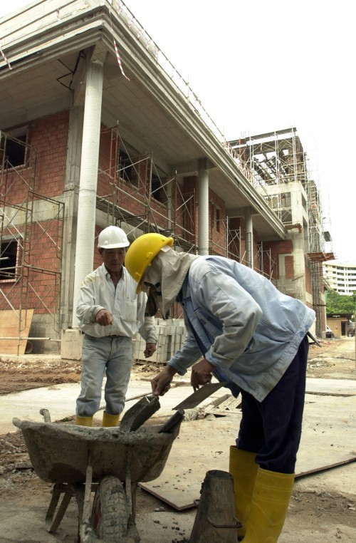 Big foreign worker dorms faring poorly