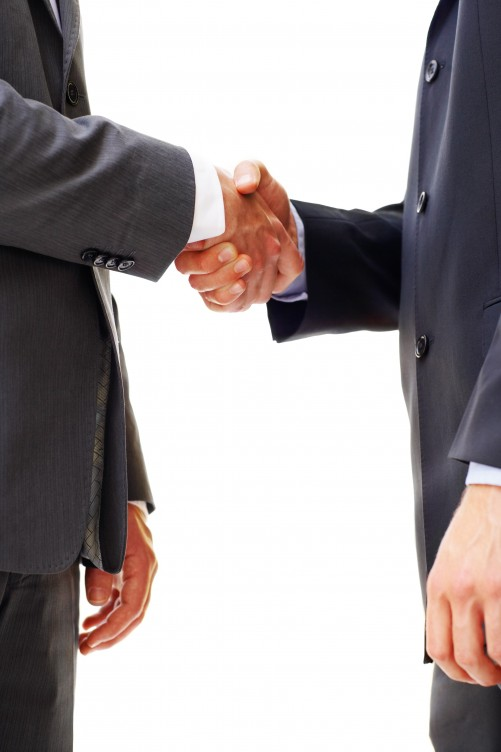 Build business ties with focus