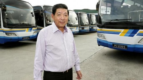 Transport boss misses hard days of driving a bus