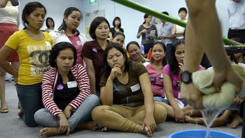 Empowering foreign domestic workers