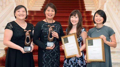 Four winners who make a difference to the lives they touch