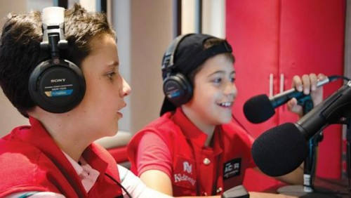 Be a radio DJ or dentist? It's child's play