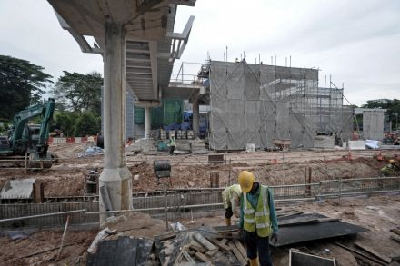 Contractor's cashflow woes may hit work on MRT