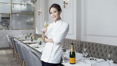 Career switch pays off for graphic-designer-turned-chef Vicky Lau, named Asia's Best Female Chef