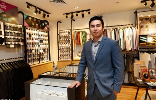 High-tech tailoring suits retailer to a T