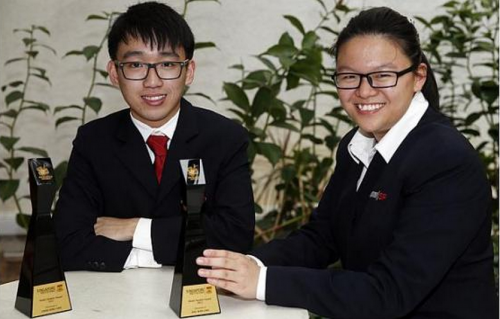 Aspiring air force engineer, film-maker amongst winners of S'pore Polytechnic student award