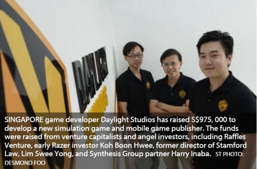 It's 'Game on' for local game developer