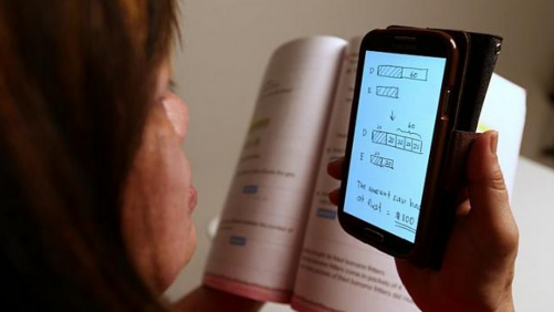 Parents turn to apps for homework help