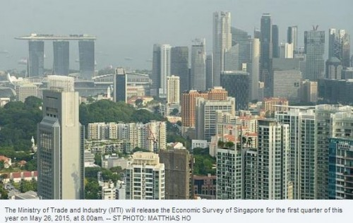 MTI to release Q1 Economic Survey of Singapore on May 26