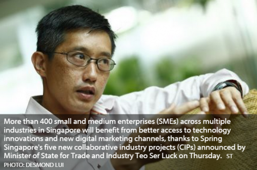 Government announces new collaborative industry projects for SMEs