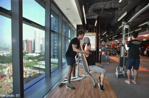 Luxury invitation-only gym for senior execs