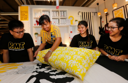 Ikea lessons, work stints for Temasek Poly students
