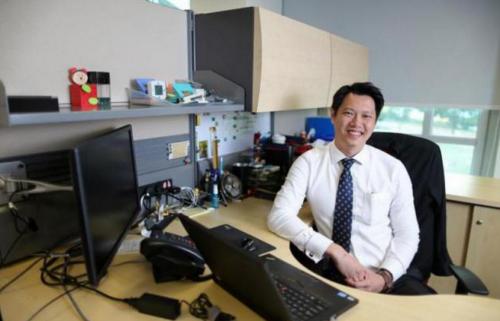 From Temasek Poly to V-P at OCBC Bank