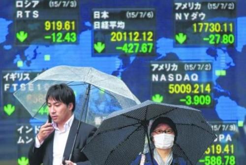 Asian markets retreat amid Greece turmoil