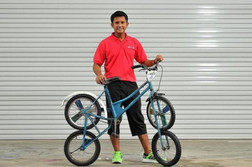 Start-up turns old bikes into fun rides