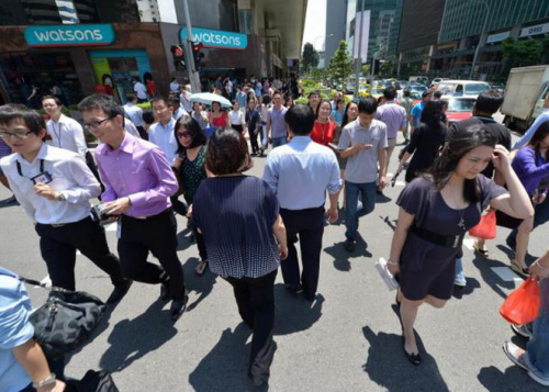 Foreign share of workforce to remain at one-third